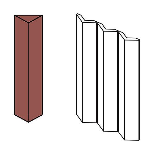 Декор Rombini Triangle Large Red 18,6 × 31,5 см