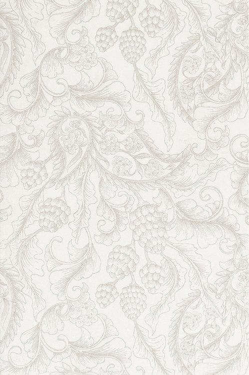 Керамическая плитка England Bianco Quinta Sarah Dec 33,3 × 100 см