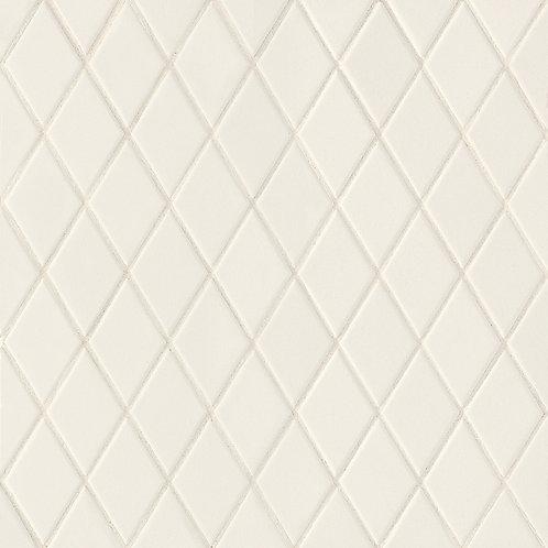 Керамогранит Rombini Losange White 25,7 × 27,5 см