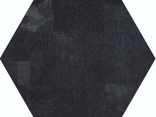 Керамогранит Esagono Decor Nero 60*60 см
