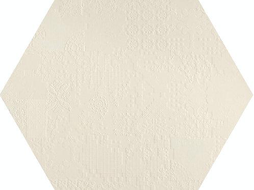 Керамогранит Esagono Decor Bianco 60*60 см