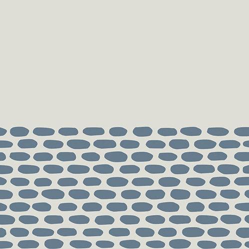 Керамогранит Tape Cobble half blue 20,5 × 20,5 см