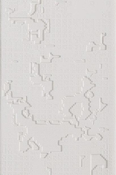 Керамогранит Cloud Relief Bianco 18 × 54 см