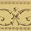 Thumbnail: Бордюр Narciso A Su Crema 20 × 20 см
