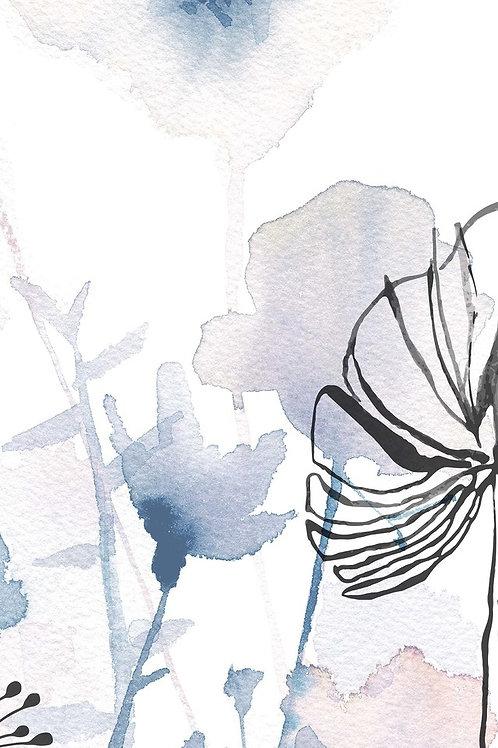 Керамогранит I Decorativi Jardin Blue 2 100 х 300 см