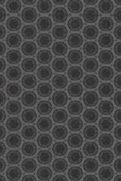 Керамогранит Cover Rounded black 30*120 см