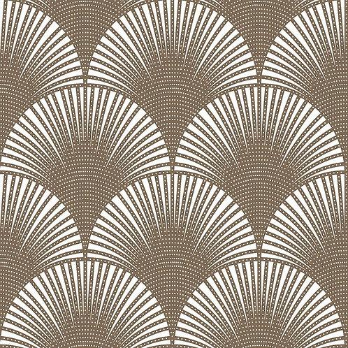 Керамогранит Pavone ottone su fondo bianco matt  60*60 см