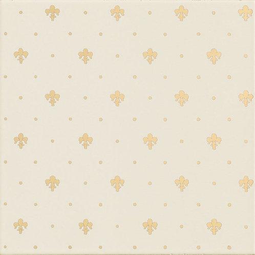 Керамическая плитка Giglio Oro Su Panna 20 × 20 см