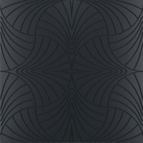 Керамогранит Piuma nero su fondo matt 60*60 см