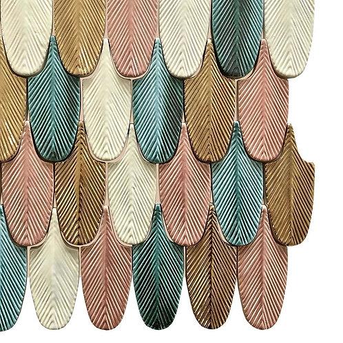 Коллекция Plumage Tiles  (design CRISTINA CELESTINO 2016)