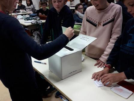 Elections délégués CM2