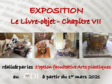 """Expo """"Le livre objet"""""""