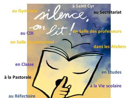 "Info C.D.I. ""Silence, on lit"""