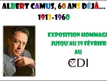 Expo Albert Camus
