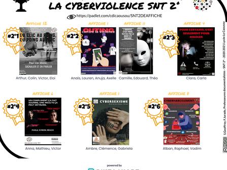 Concours affiches contre la cyberviolence