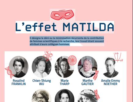 """Expo """"L'effet Matilda"""""""