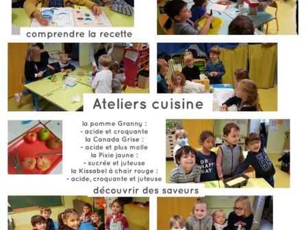 Les Maternelles en cuisine