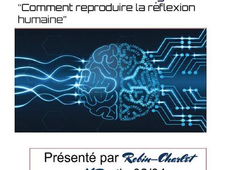 Comment reproduire la réflexion humaine