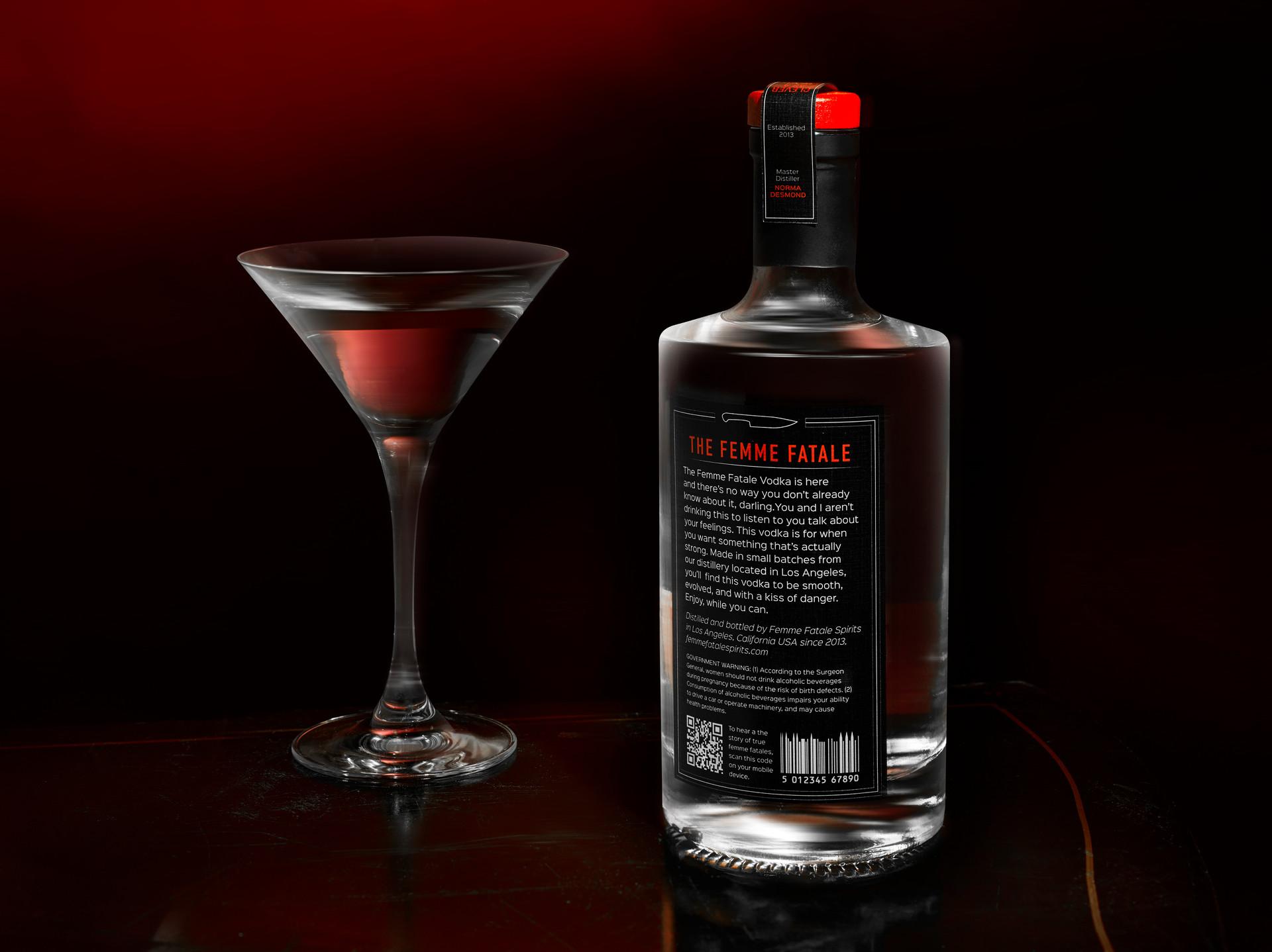 Kimia Fariborz the Femme Fatale Vodka