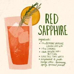 RED SAPPHIRE RECIPE