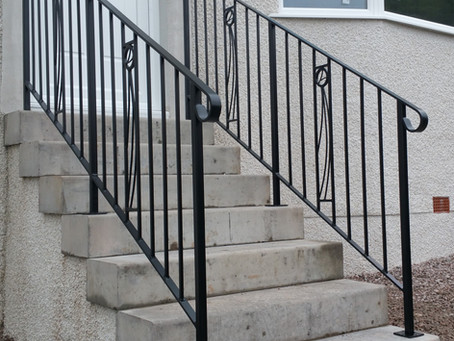 Mackintosh Inspired Handrail