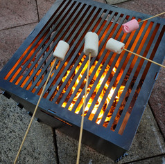 The Foldaway BBQ Steel Log Burner...