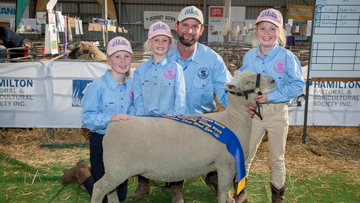 2019 Supreme Short Wool Heritage ewe Sheepvention