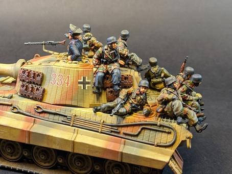"NEW RELEASE: Fallschirmjaeger ""Tank Riders"""