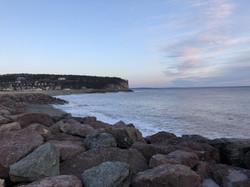 Fundy National Park beach