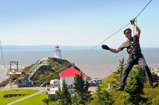 Cape Enrage Ziplining