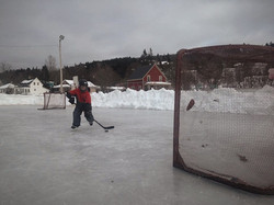 Outdoor Rink in Alma