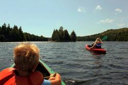 Bennett Lake Kayaking
