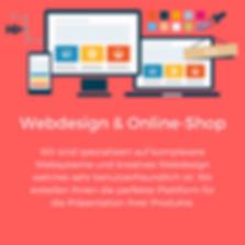 Webdesign Online-Shop