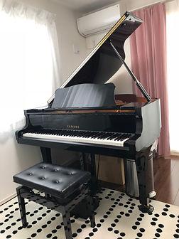 後藤ピアノ教室グランドピアノ