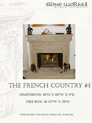 FRENCH COUNTRY MANTLE #4