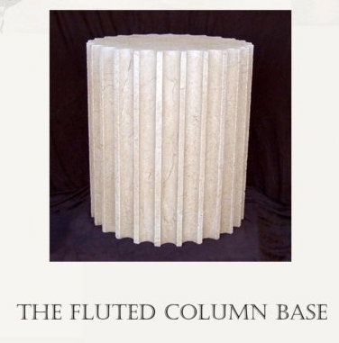 THE FLUTED COLUMN BASE