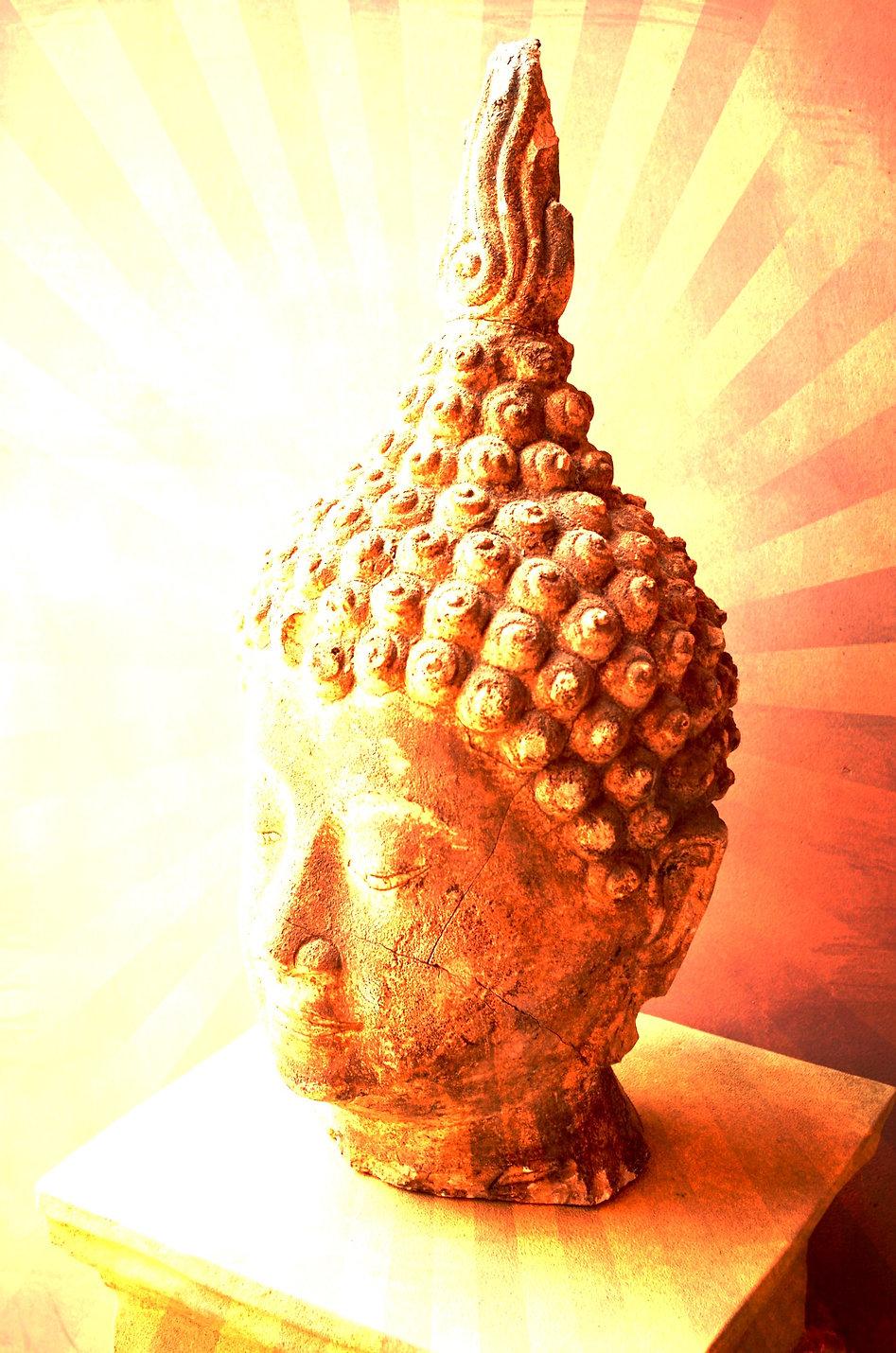 Buddah Head Statue