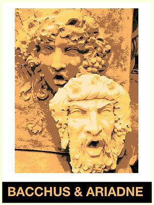 Bacchus Plaque Fountain