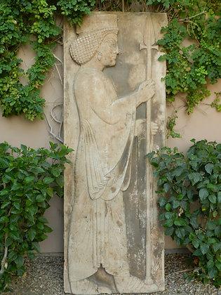 ASSYRIAN GUARD PLAQUE