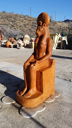 Egyptian Sekhmet In Terra Cotta