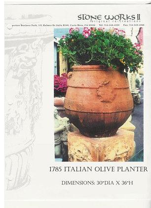 1785 ITALIAN OLIVE PLANTER