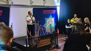 LEICESTERSHIRE FIRE & RESCUE SERVICE MAKING A HUGE IMPACT USING VR AND MOTION TECHNOLOGY...