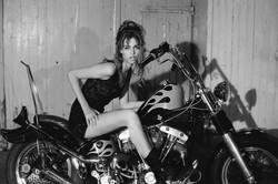 chopper girl  - Roberta Flame