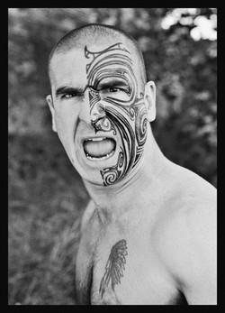 Eric Cantona tatoo