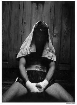 boxeur avant son combat