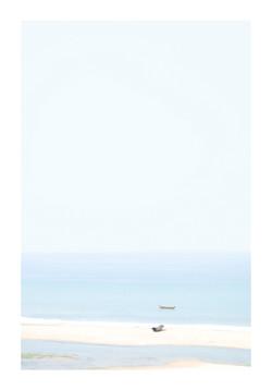 Barque au sable, 2017.