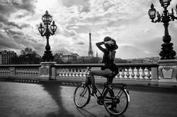 La parisienne à bicyclette