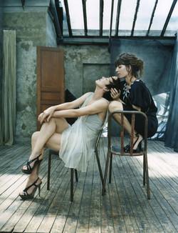 Jane Birkin et Lou Doilon