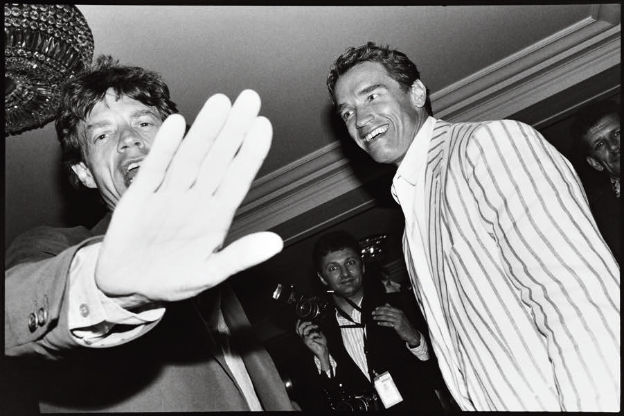 "Jean PIGOZZI ""Jagger Schwarzenegger"""