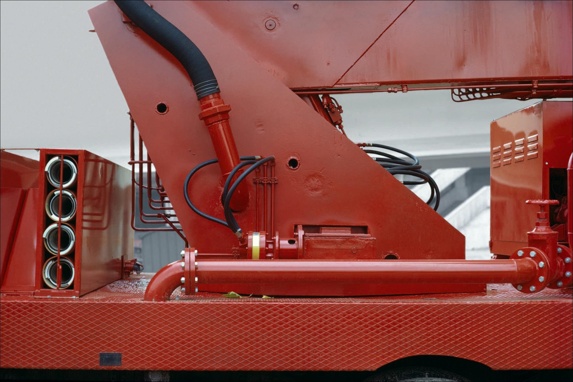 camion détaille rouge 1978